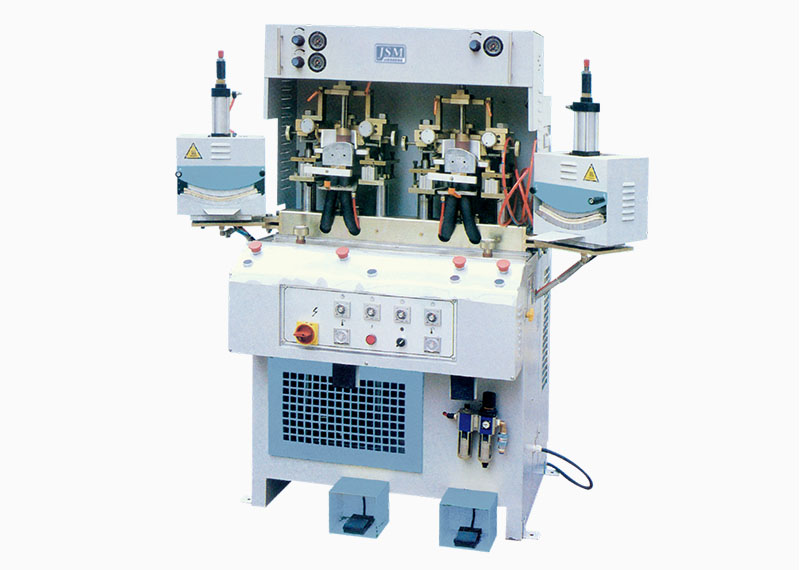JS 102 2C2H Two cold and two hot toe forming machine