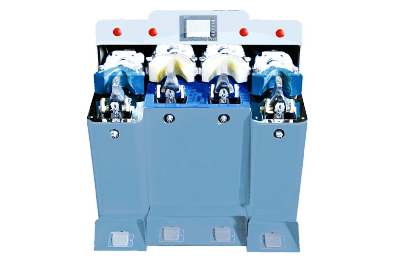 JS 104 2C2H 2 Computerized two cold and two hot back part molding machine