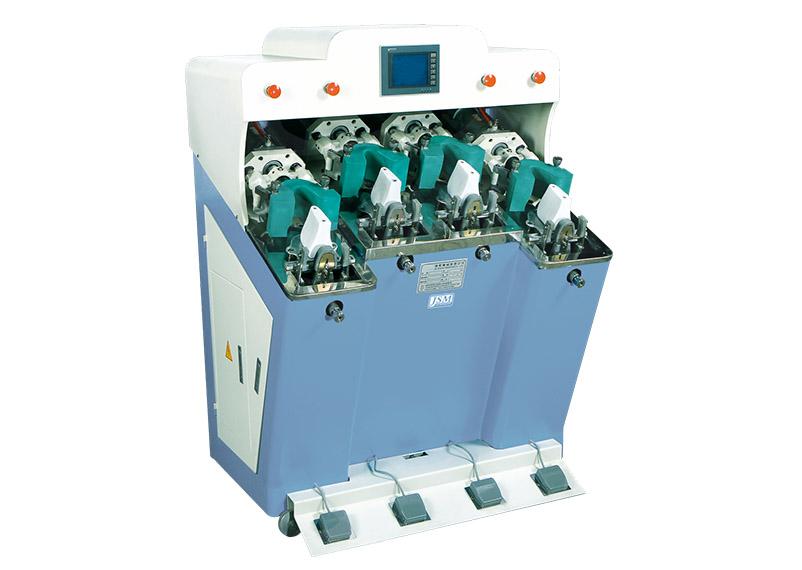 JS 104 4C 2 Computerized four cold back part molding machine