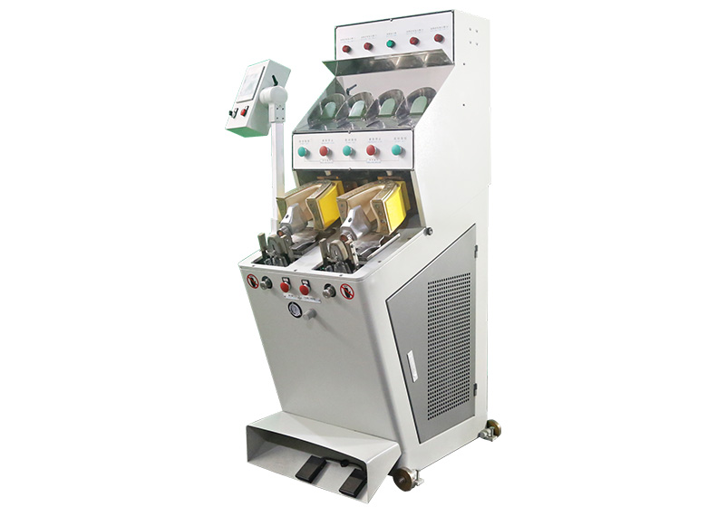 JS 105 2C4H 1 Two cool and four hot back part molding machine